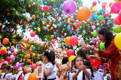 Lễ Khai giảng năm học mới đảm bảo ngắn gọn, vui tươi, lành mạnh